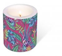 decorative candle - Chameleon