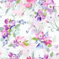 Serviettes 24x24 cm - Sweet Pinks