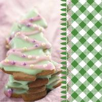 Serviettes 33x33 cm - Tree cookies