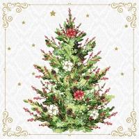 Napkins 24x24 cm - Christmas Tree