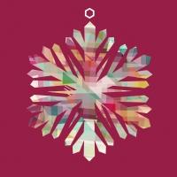 Napkins 33x33 cm - Colored Snowflake
