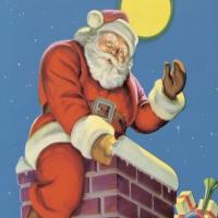 Servilletas 33x33 cm - Chimney Santa