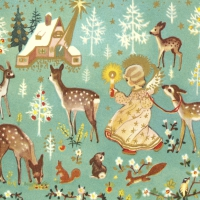 Servilletas 33x33 cm - Forest Fairy
