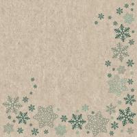 Servilletas 33x33 cm - Snowflakes