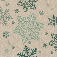 Servilletas 24x24 cm - Snowflakes