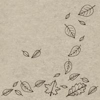 Napkins 24x24 cm - Autumnfall