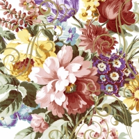 Napkins 24x24 cm - Ornate florals