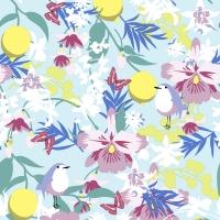 Serviettes 24x24 cm - Dream garden