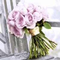 Serviettes 33x33 cm - Pink romance