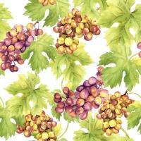 Serwetki 33x33 cm - Grapes