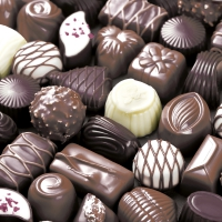 Napkins 33x33 cm - Chocolates