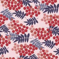 Napkins 33x33 cm - Rowan berries
