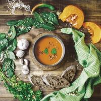 Napkins 33x33 cm - Pumpkin soup