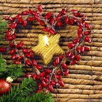 Napkins 24x24 cm - Xmas heart