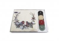 Combibox - Co-Pack Birds in wreath