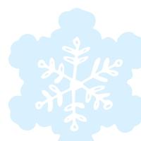 Serwetki wykrawane - Silhouettes Snowflake