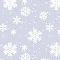 Serwetki 33x33 cm - Moments Silver Snow