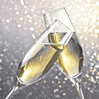 Serviettes 24x24 cm - Cheers