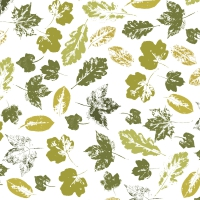 Servilletas 24x24 cm - Stamped leaves
