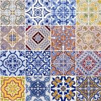 Serviettes 33x33 cm - Tiles
