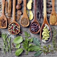 Napkins 33x33 cm - Spices & herbs