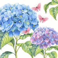 Serviettes 33x33 cm - Gentle hydrangea