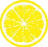 Die-cut napkins - Lemon