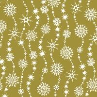 Napkins 33x33 cm - Chrystal waves gold