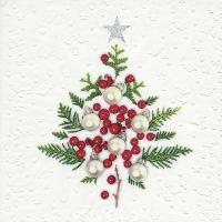Serwetki 33x33 cm - Moments Berry tree