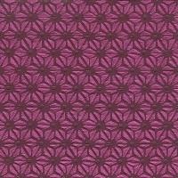 Napkins 33x33 cm - Moments Hamp leaf pattern red