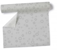 Table Runner Moments - uni silver