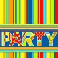 100 tovaglioli 33x33 cm - New Party