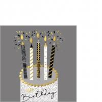 Servietten 25x25 cm - Capisco Birthday 25x25 cm