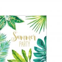 Serviettes 25x25 cm - Jungle Summer Party 25x25 cm