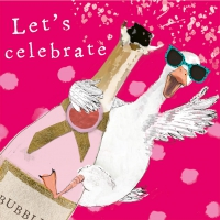 Serviettes 25x25 cm - Lets celebrate 25x25 cm