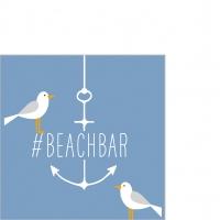 Serviettes 25x25 cm - Beach Bar 25x25 cm