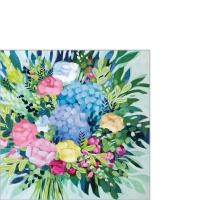 Serviettes 25x25 cm - Royal Bouquet 25x25 cm