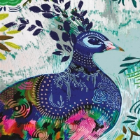 Serviettes 25x25 cm - Rivera Folklore 25x25 cm