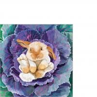 Serviettes 25x25 cm - Babs the Bunny 25x25 cm