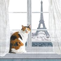Napkins 25x25 cm - Madeleine à Paris 25x25 cm
