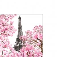 Serviettes 25x25 cm - April in Paris Napkin 25x25
