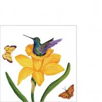 Napkins 25x25 cm - Daffodil Nest Napkin 25x25