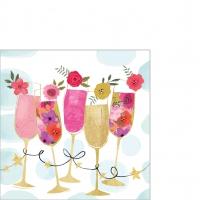Serwetki 25x25 cm - Happy Drinks Napkin 25x25