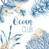Napkins 25x25 cm - Ocean Club Napkin 25x25
