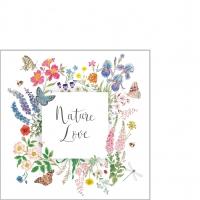 Servilletas 25x25 cm - Nature Love Napkin 25x25