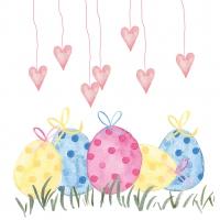 Serviettes 33x33 cm - Lovely Easter 33x33 cm