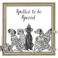 Serviettes 33x33 cm - Spotted to be special 33x33 cm