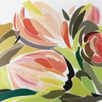 Serviettes 33x33 cm - Tulip Fantasy 33x33 cm