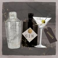Napkins 33x33 cm - Gin & Martini 33x33 cm