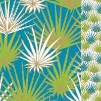 Napkins 33x33 cm - Palms 33x33 cm